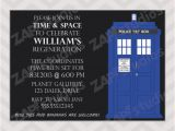 Doctor who Birthday Card Template Free Printable Doctor who Birthday Party Invitations