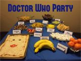 Doctor who Birthday Decorations Balancing Meanderings Doctor who Game Night Birthday Party