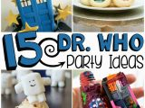 Doctor who Birthday Party Decorations 15 Doctor who Party Ideas for Tweens