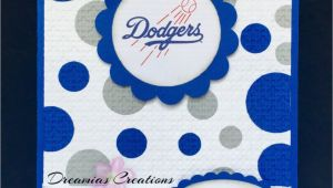 Dodgers Birthday Card Great for Any Los Angeles Dodgers Fan This Birthday Card Made