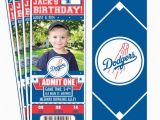 Dodgers Birthday Card Items Similar to 12 Los Angeles Dodgers Birthday Party