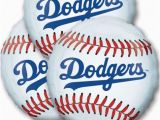 Dodgers Birthday Card Los Angeles Dodgers Balloons 18in 3ct Party City James
