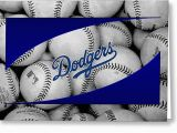 Dodgers Birthday Card Los Angeles Dodgers Photograph by Joe Hamilton