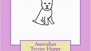 Does Barnes and Noble Have Birthday Cards Australian Terrier Happy Birthday Cards Do It Yourself by