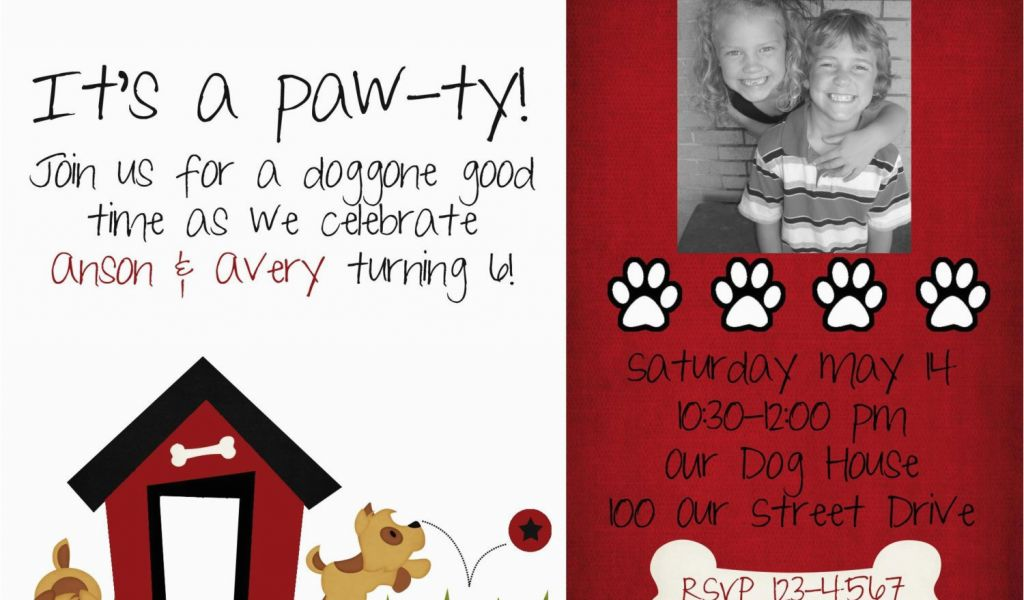 Download By SizeHandphone Tablet Desktop Original Size Back To Dog Birthday Invites