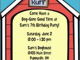 Dog Birthday Invites Puppy Dog Party Invitations Personalized Puppy Dog Candy