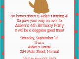 Dog Birthday Party Invitation Templates Dog Birthday Invitations Ideas Bagvania Free Printable
