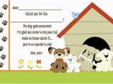 Dog Birthday Party Invitation Templates Dog Party Invitations