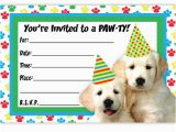 Dog Birthday Party Invitation Templates Party Invitation Templates Dog Party Invitations