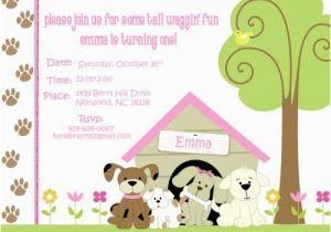 Dog Themed Birthday Invitations Free Printable Lijicinu