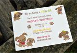 Dog themed Birthday Invitations Kids Puppy Dog Party Invitations Kids Birthday Party
