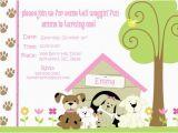 Dog themed Birthday Party Invitations Dog Birthday Invitations Free Printable Lijicinu