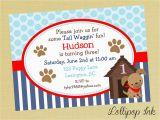 Dog themed Birthday Party Invitations Puppy Dog Birthday Invitations Best Party Ideas