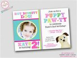 Dog themed Birthday Party Invitations Tips Tricks to Throwing A Girl 39 S Puppy Dog themed