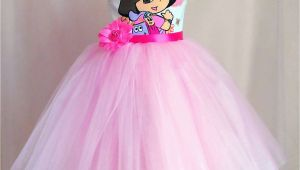 Dora Birthday Dresses Dora Birthday Dress Tutu Dora Outfit Disney Dora Party