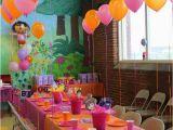 Dora Decorations Birthday Party Dora Birthday Party Ideas Photo 3 Of 15 Catch My Party