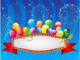 Download Happy Birthday Balloons Banner Balloons Banner Free Vector In Adobe Illustrator Ai Ai