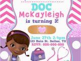 Dr Mcstuffins Birthday Invitations Doc Mcstuffins Birthday Invitation by Kaitlinskardsnmore