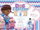 Dr Mcstuffins Birthday Invitations Doc Mcstuffins Birthday Invitations Doctor by