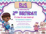 Dr Mcstuffins Birthday Invitations Doc Mcstuffins Birthday Party Invitation by Prettypaperpixels