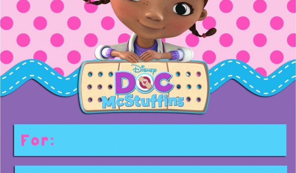 Dr Mcstuffins Birthday Invitations Doc Invitation