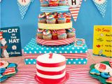 Dr Seuss 1st Birthday Decorations Dr Seuss Birthday Party Ideas New Party Ideas