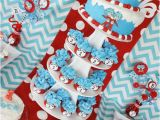 Dr Seuss 1st Birthday Decorations Kara 39 S Party Ideas Thing One Thing Two Dr Seuss Twins 1st