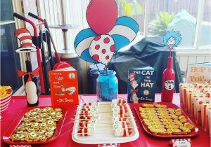 Dr Seuss 1st Birthday Party Decorations Diy Project Nursery