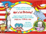 Dr Seuss 1st Birthday Party Invitations Dr Seuss Birthday Invitations Ideas Bagvania Free