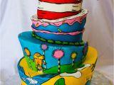 Dr Seuss Birthday Cake Decorations Dr Seuss Birthday Cakecentral Com