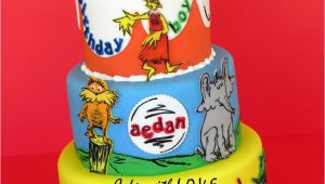 Dr Seuss Birthday Cake Decorations Dr Seuss Cake Cakecentral Com