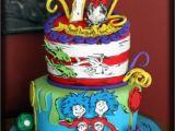 Dr Seuss Birthday Cake Decorations Dr Seuss Inspired Birthday Cake