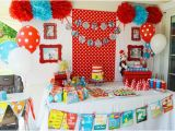 Dr Seuss Birthday Decoration Ideas Dr Seuss 1st Birthday Party Ideas