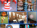 Dr Seuss Birthday Decoration Ideas One Fish Two Fish Red Fish Blue Fish eventful Possibilities