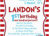 Dr Seuss Birthday Invite Dr Seuss Birthday Invitations Wording Drevio Invitations