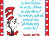 Dr Seuss Birthday Invite Dr Seuss Birthday Quotes Quotesgram