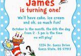 Dr Seuss Birthday Invites Dr Seuss Birthday Invitations Wording Free Invitation