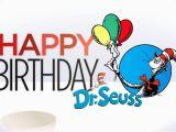 Dr Seuss Birthday Quotes Happy Birthday You Happy Birthday to You Dr Seuss Card