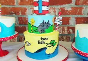 Dr Seuss First Birthday Decorations Diy 1st Party Project Nursery