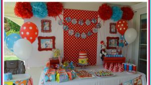 Dr Seuss First Birthday Decorations Dr Seuss 1st Birthday Party Ideas