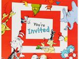 Dr Seuss First Birthday Invitations Dr Seuss 1st Birthday Invitations Birthdayexpress Com