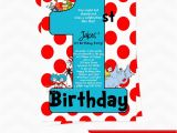 Dr Seuss First Birthday Invitations Dr Seuss Invitations for 1st Birthday Only by Dpdesigns2012