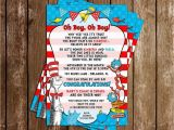 Dr Seuss Twin Birthday Invitations Novel Concept Designs Boy Oh Boy Dr Seuss Twins