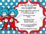 Dr Seuss Twin Birthday Invitations Novel Concept Designs Dr Seuss Thing 1 and Thing 2