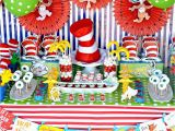 Dr Suess Birthday Decorations Crissy 39 S Crafts Dr Seuss Party Ideas and Snacks