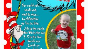 Dr Suess Birthday Invitations Modern Mommy Musthaves Our Dr Seuss 1st Birthday Party