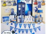 Dr who Birthday Decorations Dr who Party Printable Mega Set Instant by Creativelittlestars