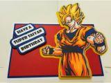 Dragon Ball Z Birthday Card Dragon Ball Z Birthday Card by Craftingwithattitude On Etsy