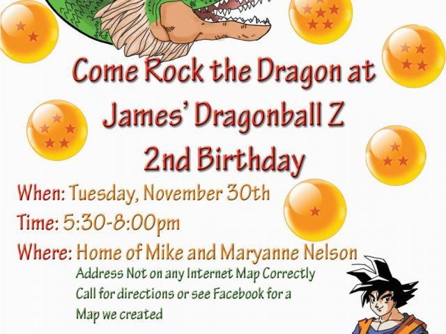 Download FREE Dragon Ball Fighter Z Invitation Template Dbz