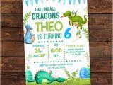 Dragon Birthday Invitations Printable Dragon Birthday Invitation Dragon Party Printable